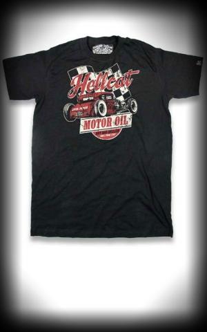 Hotrod Hellcat - T-Shirt Motor Oil