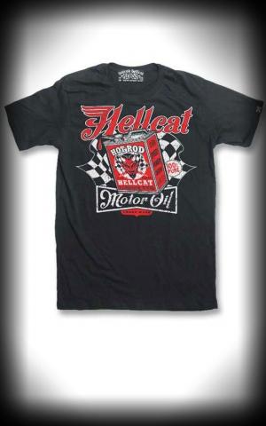 T Shirt Hotrod Hellcat Devil Motor Oil The Must Have