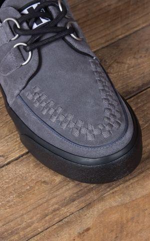 TUK VLK D Ring Creeper Sneaker, Grey Suede