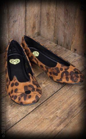 TUK Leopard Sophistakitty Flat Ballerina