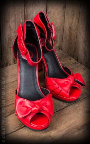 TUK Red Knot Peep Toe Ankle