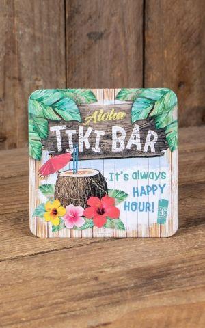 Untersetzer Aloha Tiki Bar