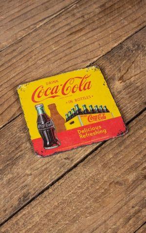 Dessous de verre Coca-Cola - In Bottles Yellow