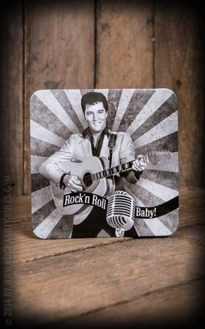 Untersetzer - Elvis Presley RocknRoll Baby