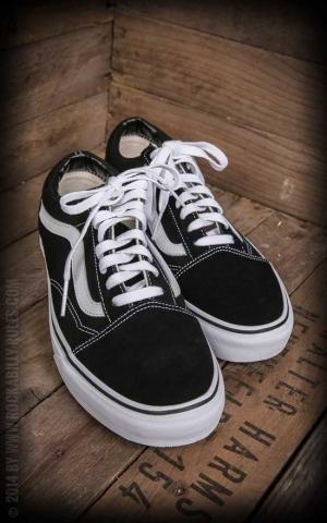 VANS - Old Skool - Black/White - Schuhe