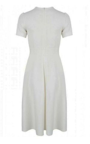 Very Cherry - Hollywood Circle Dress Ivory