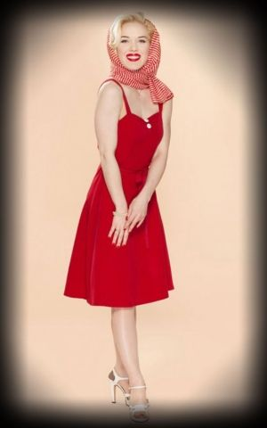 Very Cherry - Dress Sunny