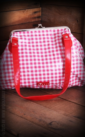 Vichy Clipbag rot wei�