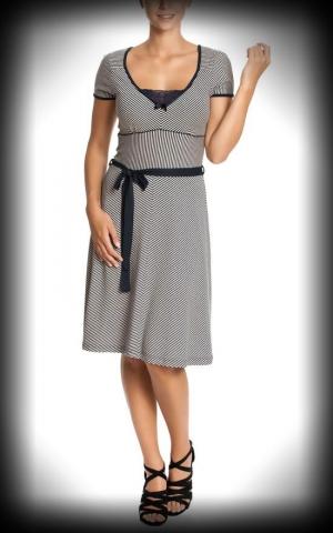 Vive Maria - Sailor Ahoi Dress, dark blue/creme