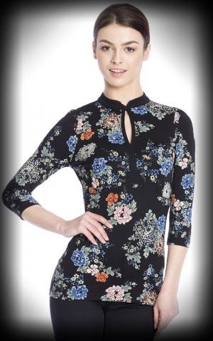 Vive Maria - Shirt Shanghai Noon, black