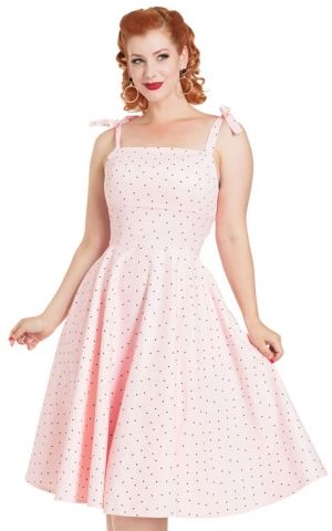 Voodoo Vixen Polkadot Dress Hannah