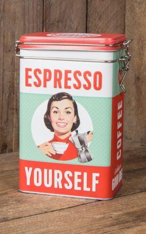 Vorratsdose - Kaffeedose - Espresso Yourself