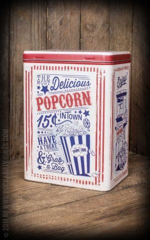 Storage tin L - Popcorn