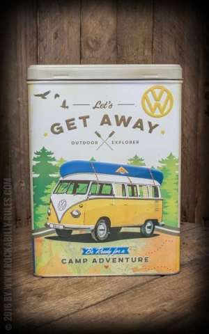 Vorratsdose VW Bulli - Lets Get Away!