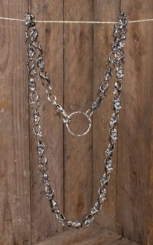 Wallet Chain | Geldbeutelkette Endless Skulls