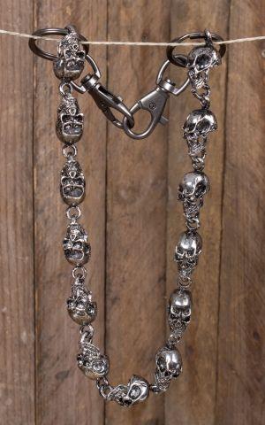 Wallet Chain | Geldbeutelkette Giant Skulls