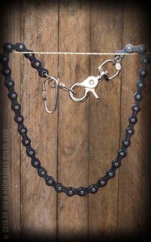 Wallet Chain - Bike Chain - black