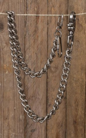 Wallet Chain Smooth Leash Hack Authentic Metal