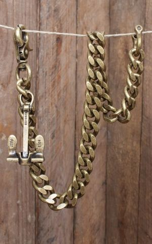 Rumble59 - Wallet Chain   Ankerkette - Hold Fast