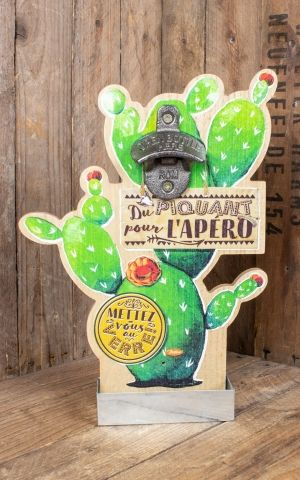 Wall mounted bottle opener - Mexico Du Piquant