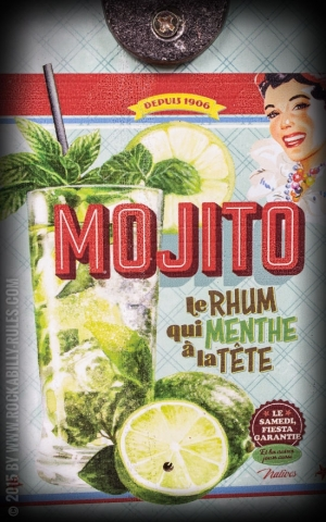 Wandflaschenöffner - Mojito