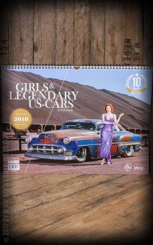 Calendrier Girls & legendary US- Cars 2018