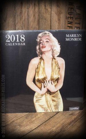 Calendrier 2018 - Marilyn Monroe