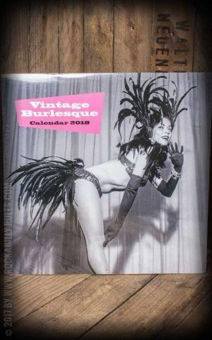 Calendrier 2018 - Vintage Burlesque