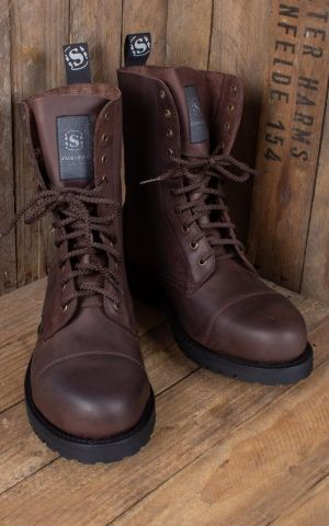 Sendra Wood Worker Boots brown - handmade