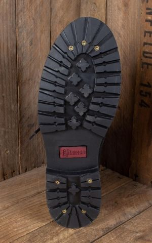 Wood Worker Boots black - fait main
