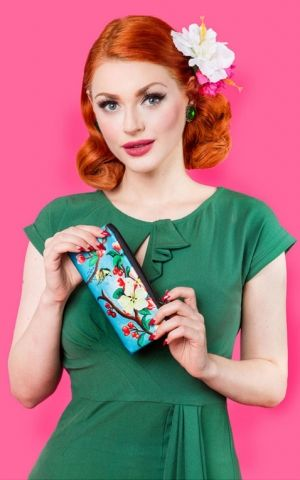 Woody Ellen Etui | Glasses case Blossom