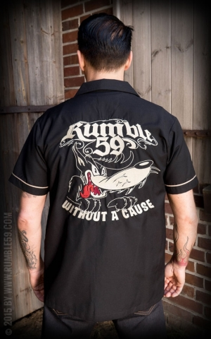 Rumble59 - Worker Shirt - Big Bad Wolf