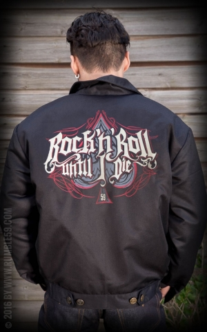 Rumble59 - Workerjacke - RnR Until I Die