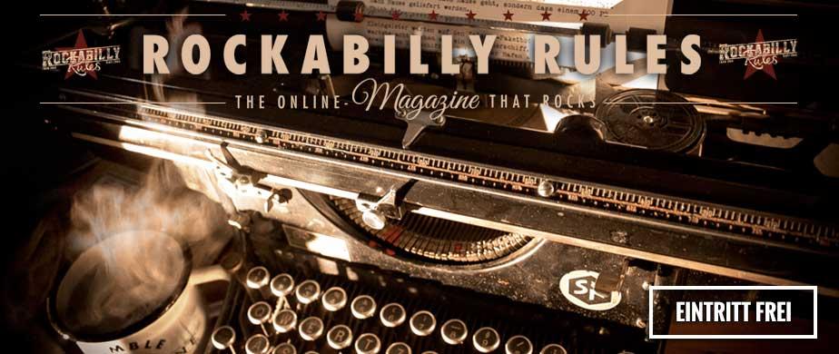 Rockabilly Magazin f�r Pin up und Greaser, mit Berichten zu Rockabilly Frisuren, Petticoat Kleider, Schwalben Tattoo hier findest du alles zu Deinem Vintage Style